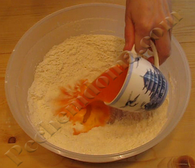 Тыквенно-морковный пирог из дрожжевого теста - рецепт пошаговый с фото