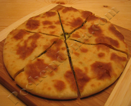 Быстрый пирог с сыром