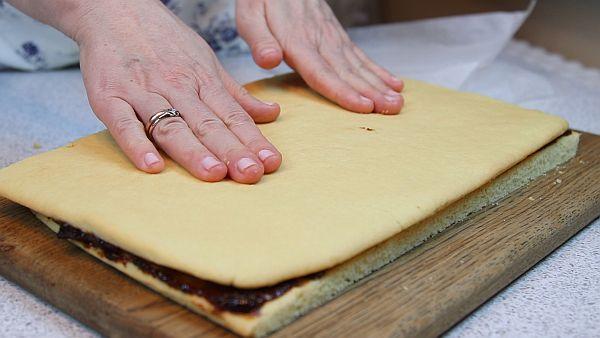 Пирожное с повидлом как в детстве - рецепт пошаговый с фото